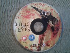 The Hills Have Eyes (DVD, disc only no case very good condition *