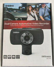 New listing Uniden Dc115 Iwitness 2.7in Dual Dash Camera - Black