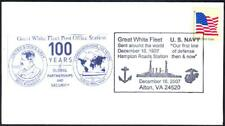 US NAVY GREAT WHITE FLEET 100th Anniversary Naval Cover (1223y)