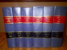 Lot of 6 CINCINNATI LAW REVIEW volumes 30-35 Years 1960's OHIO Display