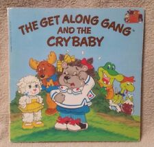 Vintage 1984 THE GET ALONG GANG AND THE CRY BABY Book SCHOLASTIC Susan Chapman