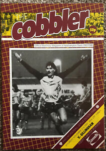 Northampton Town V Gillingham. Barclays Division 3. 21/11/1987