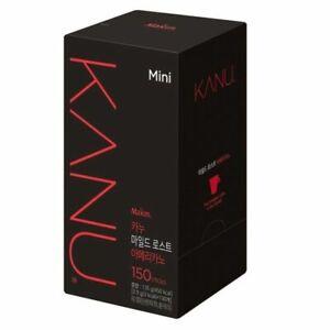 MAXIM KANU Mini Mild Roasted Korean Instant Americano Coffee 150 sticks