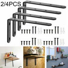 2/4Pcs Wall Mounted Shelf Brackets Scaffold Board Bracket Industrial Heavy Duty