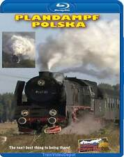 Plandampf Polska - Steam in Poland BLURAY Wolsztyn NEW