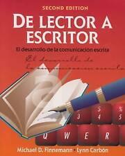 De lector a escritor: El desarrollo de la comunicacion escrita (World Languages)