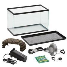 Aqua Culture Turtle & Aquatic Reptile Habitat Starter Kit, 10-Gallon Tank