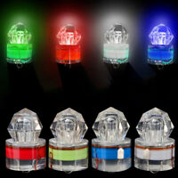 Mini LED Deep Drop Underwater Diamond Flash Fishing Light Squid Attracting Lamp