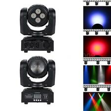 100W Rotating Moving Head RGBW Stage Light Beam & Wash Fixture DMX 15/21CH Lamp