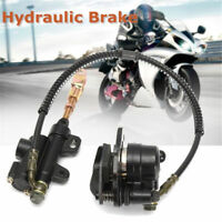 1x Approx 50cm Hydraulic Rear Disc Brake Caliper For Dirt Bike ATV 110cc 125cc