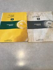 John Deere 108 And 111 Operators Manual with 321 and 338 snow thrower manual