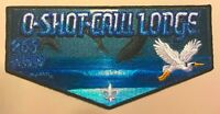 OA O-SHOT-CAW LODGE 265 SOUTH FLORIDA FL 2017 JAMBOREE FLAP FISH WYLAND ART FLAP