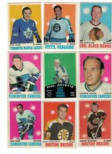 1970-71 OPC NHL Hockey Lot - Pick only the cards that you need - $4 each EX-NM