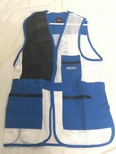 Orizo Shooting Skeet Trap Vest With Leather & Mesh