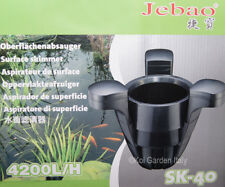 Skimmer Galleggiante Jebao SK 40 per Laghetto 40 mq con Pompa 4000 Litri/ora