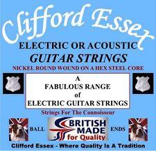 Cordes Guitare électrique nickel pour guitare et basse