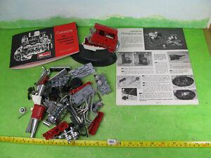 vintage monogram model kit custom v8 engine 1/8? in bits 1691