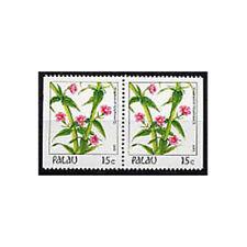 PALAU, Sc #131a, MNH, 1987, Booklet pair, Flowers, Flora, Plants, GIAW6