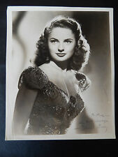 "Coleen Gray Autographed 8"" X 10"" Photograph from Estate"