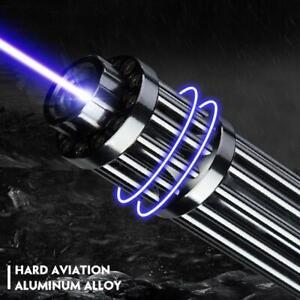 Most Powerful Military 10000m 500w 450nm Blue Laser Pointers Flashlight Burn