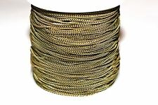 15ft 2x1.5mm Brass Antique Bronze -Twist Chain links-soldered 1-3 day shipping