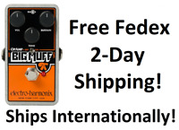 New Electro-Harmonix EHX Op-Amp Big Muff Pi Distortion/Sustainer Pedal OpAmp