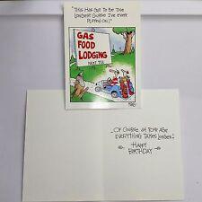 Bernie Kosar Greeting Card  Birthday Humorous Golf Buddy Age Clubs Cart Course