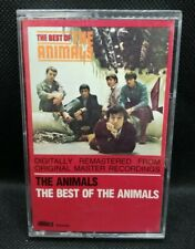 The Best Of The Animals-The Animals  Black Cassette (1987-ABKCO) Tested