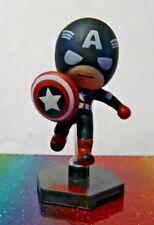 Marvel Grab Zags CAPTAIN AMERICA Mini Figure Mint OOP