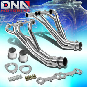 STAINLESS STEEL LONG TUBE HEADER FOR 84-91 GMT C/K 5.0/5.7 SBC EXHAUST/MANIFOLD