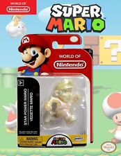 World of Nintendo Star Power Mario series 2-8   2.5 Inch Super Mario Figure