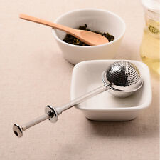 Stainless Steel Tea Herb Leaves Infuser Filter Strainer Spice Mesh Ball Spoon
