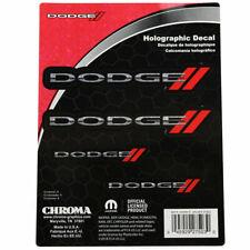Dodge New Logo Mopar Charger Challenger Holographik Logo Aufkleber Decal Sticker