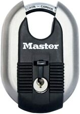 MASTER LOCK  EXCELL Heavy Duty Disc Padlock [Key] [Stainless Steel] 60mm