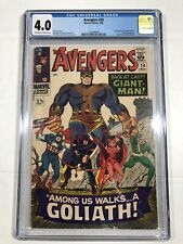 Avengers #28 CGC 4.0  Marvel 1st Appearance The Collector Kirby