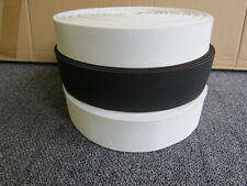 FLAT WOVEN ELASTIC 25 METRE ROLL ( CHOICE OF COLOUR & WIDTH )