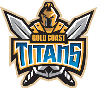 Sticker- NRL Gold Coast Titans (Big)