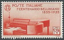 1935 REGNO BELLINI 1,75 LIRE MNH ** - E65