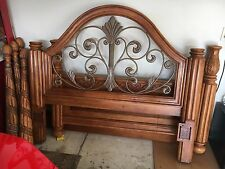 Ashley 4 Poster Bed Queen Size