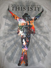 """MICHAEL JACKSON's """"THIS IS IT"""" (LG) T-Shirt THRILLER Smooth Criminal BEAT IT"""