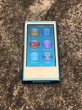 Apple iPod nano 7th Generation Blue (16 GB) Great Working Condition! Free Ship!