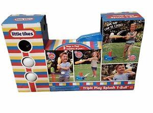LIttle Tykes Triple Play Splash T-Ball Water Game Pop Launcher Balls  USA Seller