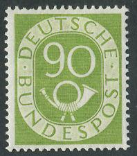 Alemania 1951-2 Sg.1060 Menta montado