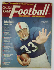 1968 College Football Street and Smiths Official Yearbook Larry Smith Cover Fla