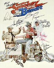 Smokey and the Bandit signed cast 8X10 photo picture poster autograph RP