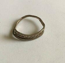 Russian Women weight 1,35 size 17 Vintage Soviet Ring Silver 925 Ukrain