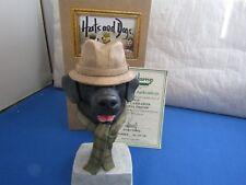 RARE  BLACK LABRADOR FAITHFUL FRIEND HHD01B HATS & DOGS  ROBERT HARROP LIMITED