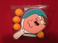 Family Guy Table Ping Pong Ball Game Balls Paddles Net Set Freakin Party Pack