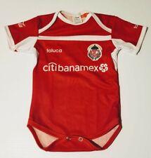 toluca diablos baby soccer jersey futbol mexico pañalero bebe c797f8ba0c03e