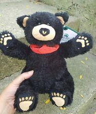 New ListingBearfoots By Jeff Fleming Pluah Black Bear McGee Bear Nwt